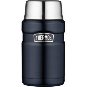 Thermos King Contenitore per alimenti 710ml, blu/argento
